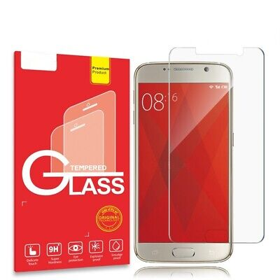 AU4.95 • Buy 2X For Samsung Galaxy S5 S6 S7 S8+ S9+ S10+ S10e Tempered Glass Screen Protector