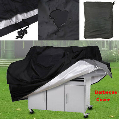 £11.98 • Buy Large BBQ Cover Universal Gas Barbeque Grill Protector Waterproof Heavy Duty 170