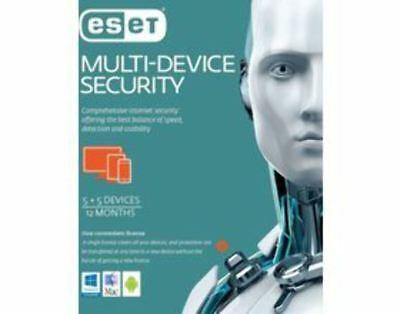AU76 • Buy ESET Multi Device Security 5+5 1 Year Retail Download Card