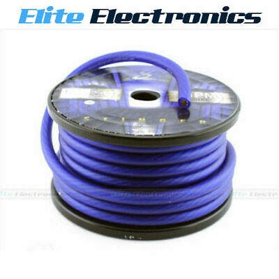 AU29.85 • Buy Stinger Shw10b 1/0 Awg Hpm Series Gauge Matte Blue Amplifier Power Cable Wire