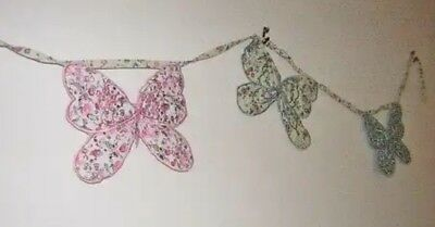 Sass And Belle Floral Butterfly Bunting  • 9.95£