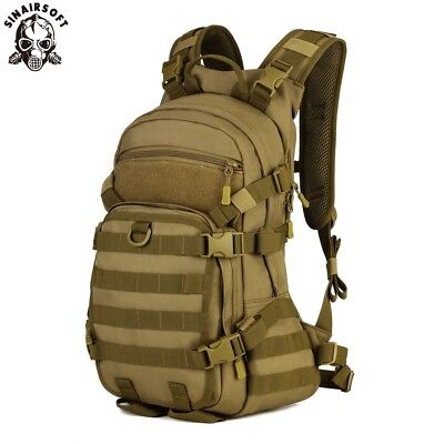 AU54.89 • Buy 25L Military Tactical Backpack Army Rucksacks Molle Shoulder Bags Outdoor Riding