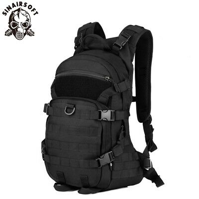 AU54.99 • Buy Tactical Riding Backpack 25L Molle Military Shoulder Bag Hiking Rucksack Camping