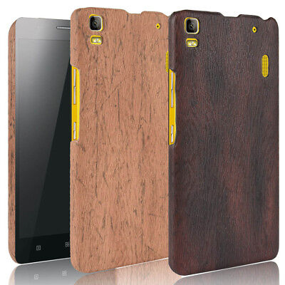 AU7.43 • Buy For Lenovo K3 Note A7000 Wood Texture PU Coated Hard Case Cover