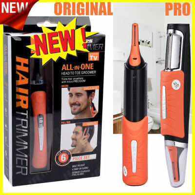 $ CDN21.34 • Buy NEW Super MicroTrim-Portable All-In-One Hair Trimmer! Dual End Micro Trimmer
