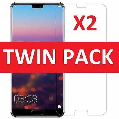 £3.29 • Buy 100% Genuine Tempered Glass Screen Protector Cover For Huawei P20 Pro 2018