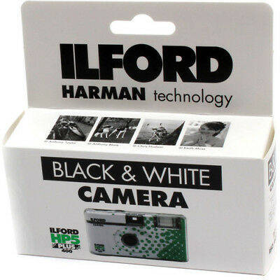 £10.53 • Buy Ilford HP5 Plus Single Use Disposable Film 35mm Camera With Flash 27 Exposures