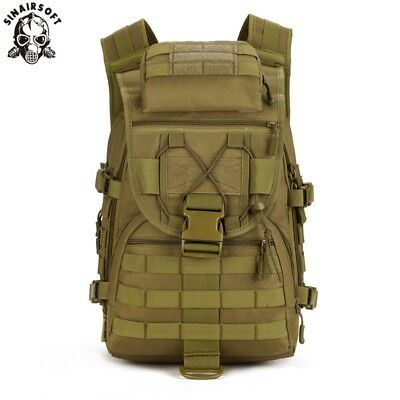 AU55.59 • Buy 40L Outdoor Hiking Camping Bag Tactical Military Army Trekking Rucksack Backpack