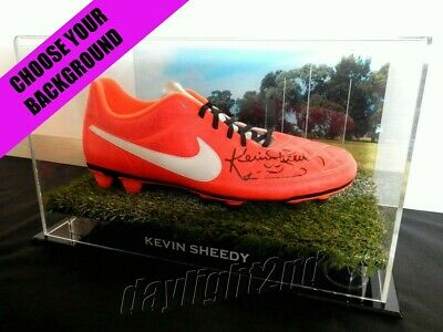 AU249.99 • Buy ✺Signed✺ KEVIN SHEEDY Boot COA Essendon Bombers Richmond Tigers 2021 Jumper AFL