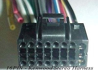 kenwood wire harness on