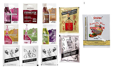 Wine Yeast High Alcohol Home Brew Cider Mead White Red Rosé Nutrients FAST FREE  • 2.59£