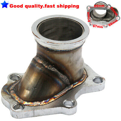 $ CDN50.89 • Buy 5 Bolt Turbo Exhaust Downpipe Flange To 2.5  V-Band Conversion Adaptor TD04/05