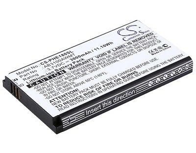 $18.69 • Buy Battery For Philips X5500, Xenium E180, Xenium E181, Xenium X1560, Xenium X1561
