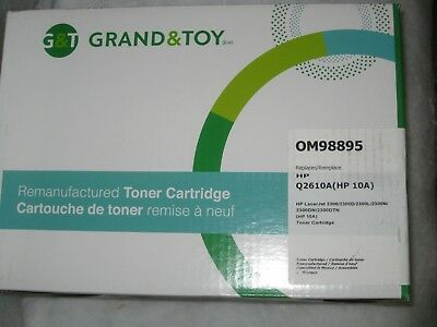 $ CDN24.99 • Buy NEW SEALED REMANUFACTURED TONER REPLACES Q2610A Grand & Toy OM98895