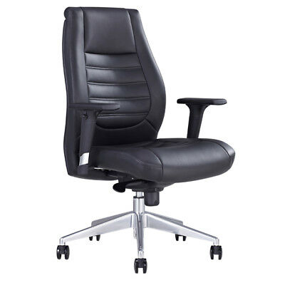 AU360 • Buy BOSTON EXECUTIVE High BACK BASE BLACK PU OFFICE CHAIR