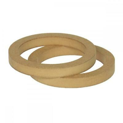 £8.91 • Buy 5.25  130mm Pair Of MDF Speaker Spacer Mounting Rings 18mm Thick ID 118mm