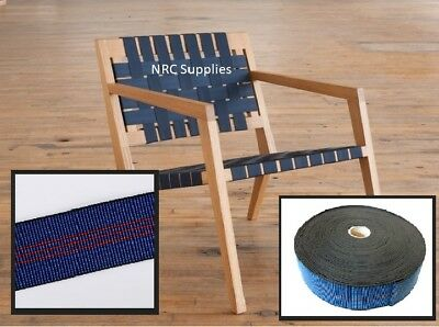 £7.90 • Buy Elasticated Seat Webbing Strap Braces Belt Elastic For Sofa Chairs Upholstery