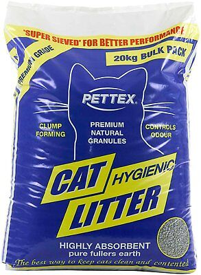 Pettex Premium Clumping Cat Litter 20kg Bag • 13.62£
