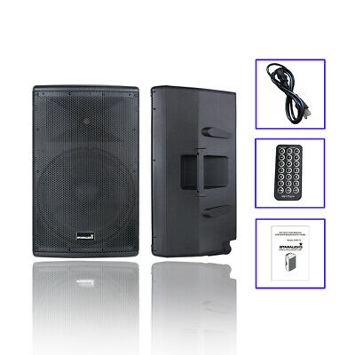 $1999.99 • Buy STARAUDIO 15  4000W Active Powered PA DJ Bluetooth Speaker System Audio Speaker