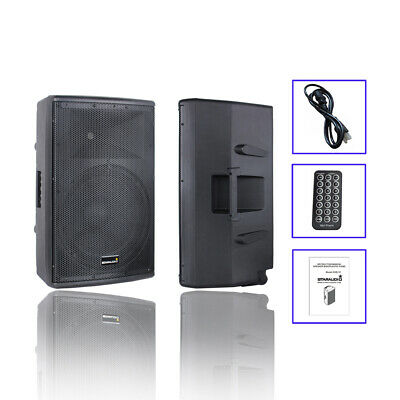 $1999.99 • Buy STARAUDIO 15  4000W Powered Audio Active PA Speaker System DJ Bluetooth Speaker