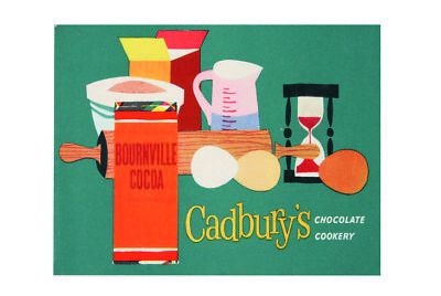 £9.99 • Buy Bournville Cocoa Cadbury's Chocolate Cooker Vintage Style Metal Wall Plaque Sign