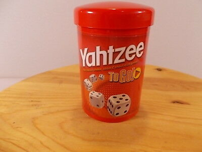 AU18.36 • Buy New Yahtzee To Go Travel Game 2005 By Hasbro Gaming Miniature Version For Travel