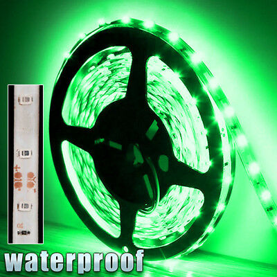$8.97 • Buy 12V Waterproof LED Strip Light 5M 300 LED For Boat / Truck / Car/ Suv / Rv Green