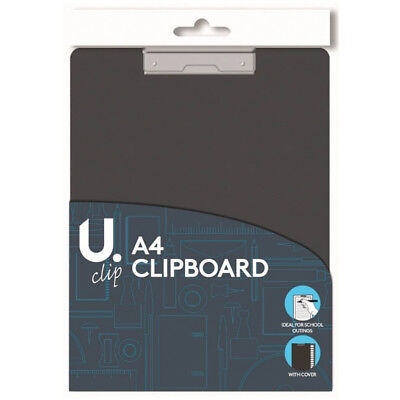 A4 Clipboard Board Clip Fold Cover Writing Filling Hard Pad Over Holder Office  • 2.99£