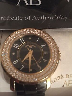 £550 • Buy Andre Belfort Aphrodite Watch Black Face New With Paperwork