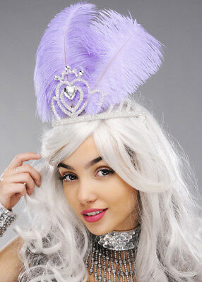 £16.69 • Buy Lilac Feather Carnival Showgirl Headdress
