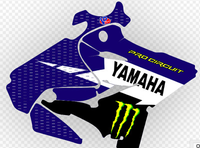 AU124.95 • Buy YAMAHA YZ 125 & 250 2015-2019 Ryan Villopoto Replica Graphics Kit