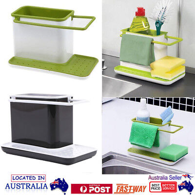 AU18.18 • Buy Kitchenware Organizer Bathroom Kitchen Sink Caddy Tidy Storage Holder Shelf NEW!