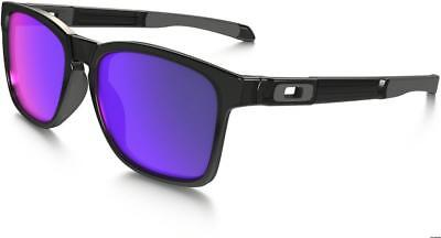 AU135.99 • Buy Oakley Sunglasses Catalyst Polished Black Ink Positive Red Iridium Lenses New