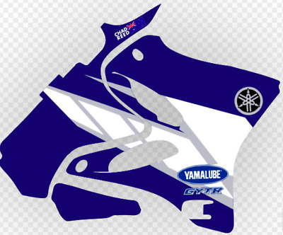 AU237.85 • Buy YAMAHA YZ250 & YZ125 Chad Reed 2004 Replica Graphics Kit 2002 - 2014