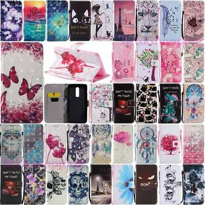 AU7.06 • Buy For OnePlus 5 5T 6 Wallet Flip Card Holder Leather Case Stand Phone Case Cover