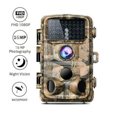 £29.24 • Buy Campark Trail Camera 16MP 1080P Infrared Night Vision Hunting Game Wildlife Cam