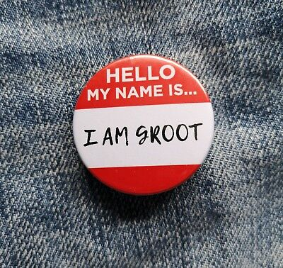 I Am Groot Pin Badge - 38/58/77mm - Guardians Of The Galaxy Baby Groot Avengers • 1.25£