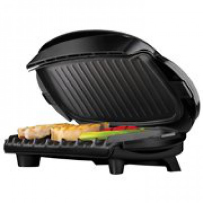George Foreman 5 Serving Removable Plate Electric Grill And Panini Press, Black • 54.81£