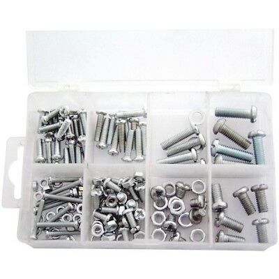 Amtech 150 Piece Mixed Nut And Bolt Set Housed In Plastic Storage Case • 5.09£