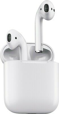 $ CDN144.52 • Buy Apple AirPods Withe In-Ear Wireless Bluetooth Headsets W/ Wireless Charging Case