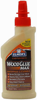 AU22.87 • Buy Elmers E7290 Wood Glue, Stainable/Waterproof, 8-oz. - Quantity 1