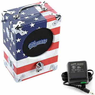 $ CDN174.26 • Buy Pignose 7-100OG Portable Guitar Amplifier Kit With Power Adapter, 1776 Old Glory