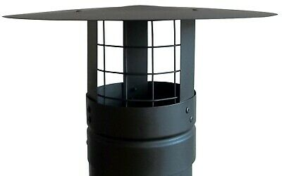 £22 • Buy Chimney Cowl With BIrd Guard ,Chimney Cap , Flue Pipe Cowl,4'',5'',6'',7'',8''