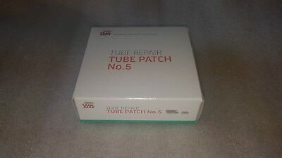 AU21.70 • Buy Box Of 10 Genuine No, 5 Tip Top Tyre Repair Patches Tractor/Car/Truck/Agri