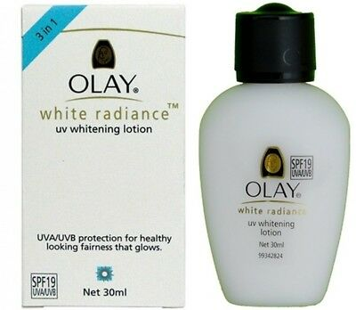 AU14.53 • Buy Olay White Radiance UV Whitening Lotion SPF19 Face Skin Care Sun Protect 30ml