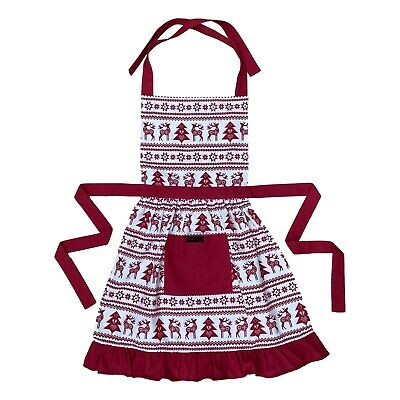 Ladies Cotton Apron, Floral, Frilly, Vintage Inspired, Baking - Choice Of Colour • 20£