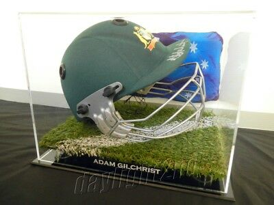AU349.99 • Buy ✺Signed✺ ADAM GILCHRIST Replica Cricket Helmet PROOF COA Australia 2021 Shirt