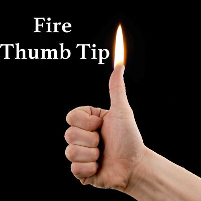 £6.99 • Buy Thumb Tip Fire Magic Trick - Flame From Your Thumb Fire Magic Trick