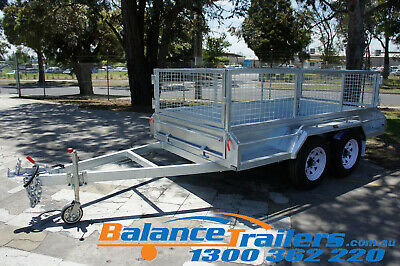 AU4150 • Buy 9x5 Hot Dip Galvanised Full Welded Heavy Duty Tandem Trailer ATM 3200KG