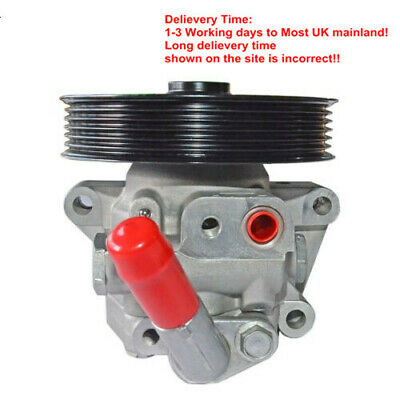 For 2007-2011 Ford Mondeo Mk4 Power Steering Pump 1.8, 2.0 Tdci 6g913a696cc • 65.50£